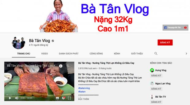 Bà Tân Vlog chính thức đạt 4 triệu lượt theo dõi, xác nhận kỷ lục khó ai sánh bằng - Ảnh 1.
