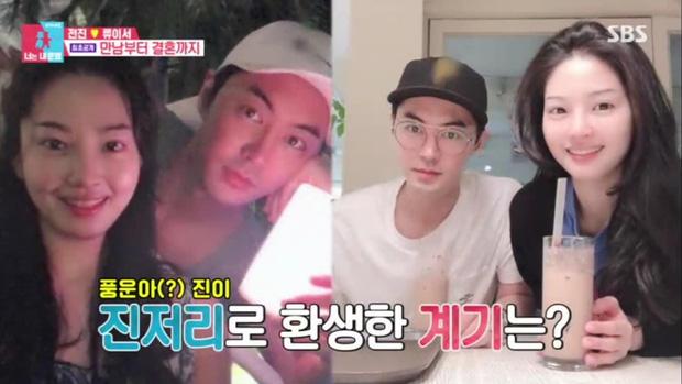 Nam thần Shinhwa lên truyền hình kể về vợ: Đẹp như minh tinh, không thể xa nàng quá 1km, 24 tiếng - ảnh 4