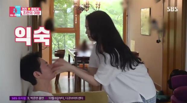 Nam thần Shinhwa lên truyền hình kể về vợ: Đẹp như minh tinh, không thể xa nàng quá 1km, 24 tiếng - ảnh 6
