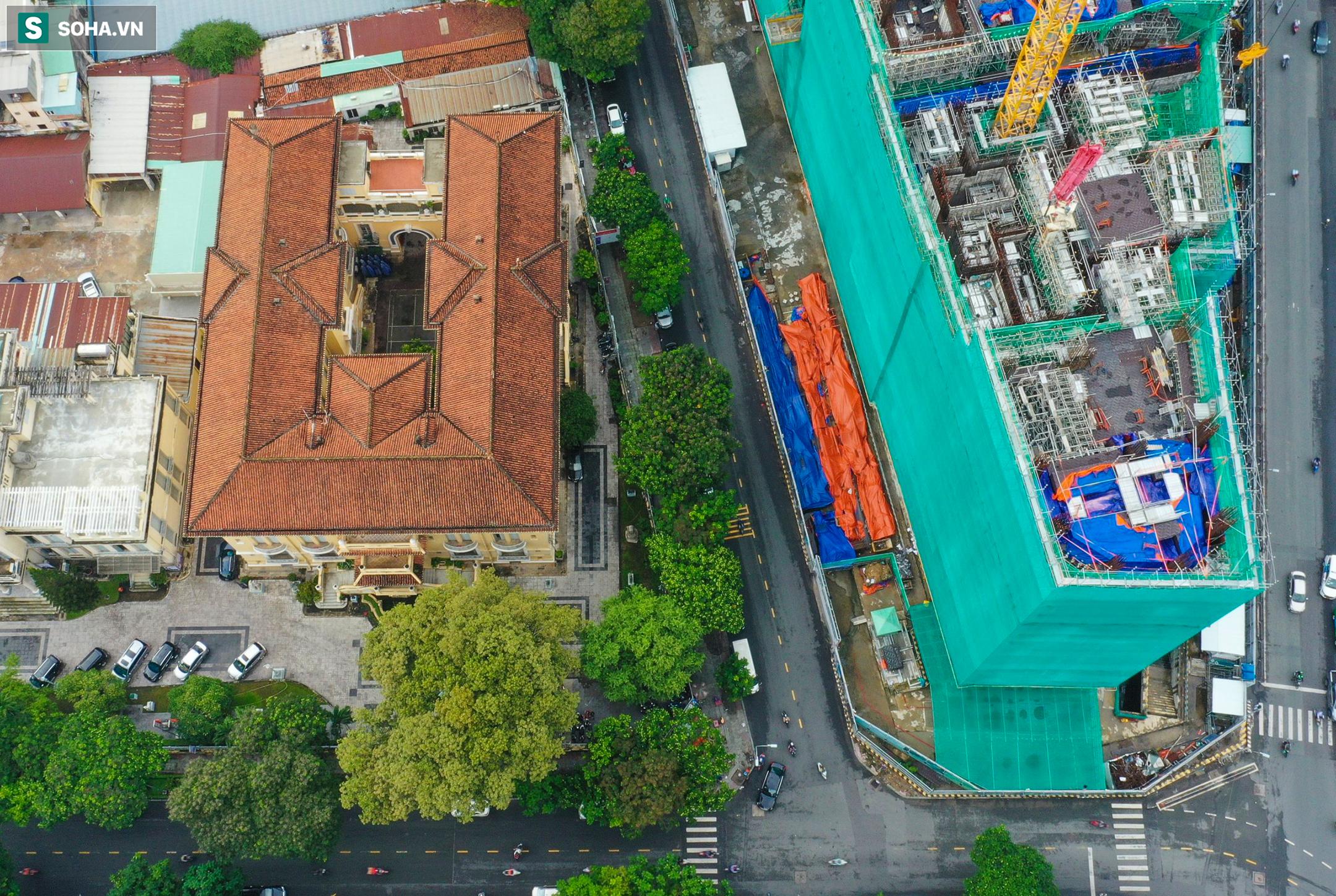 Dự án tứ giác Bến Thành có vị trí đắc địa bậc nhất TP.HCM thi công gây lún nứt Bảo tàng Mỹ thuật - Ảnh 1.