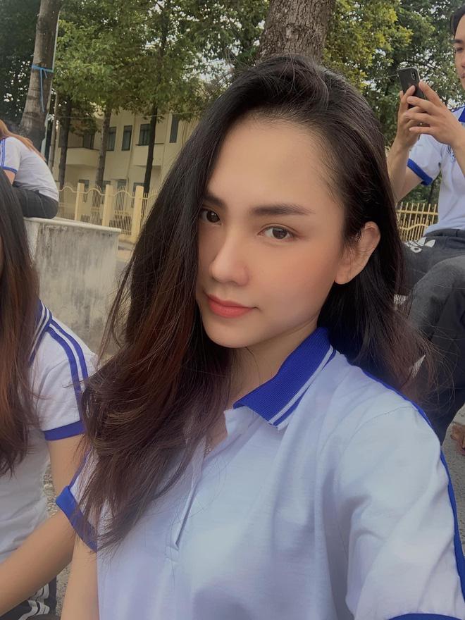 Nữ thần mặt mộc của Hoa hậu Việt Nam: Giấu bố mẹ nộp đơn ứng tuyển, nổi rần rần trên mạng người thân mới biết - Ảnh 1.