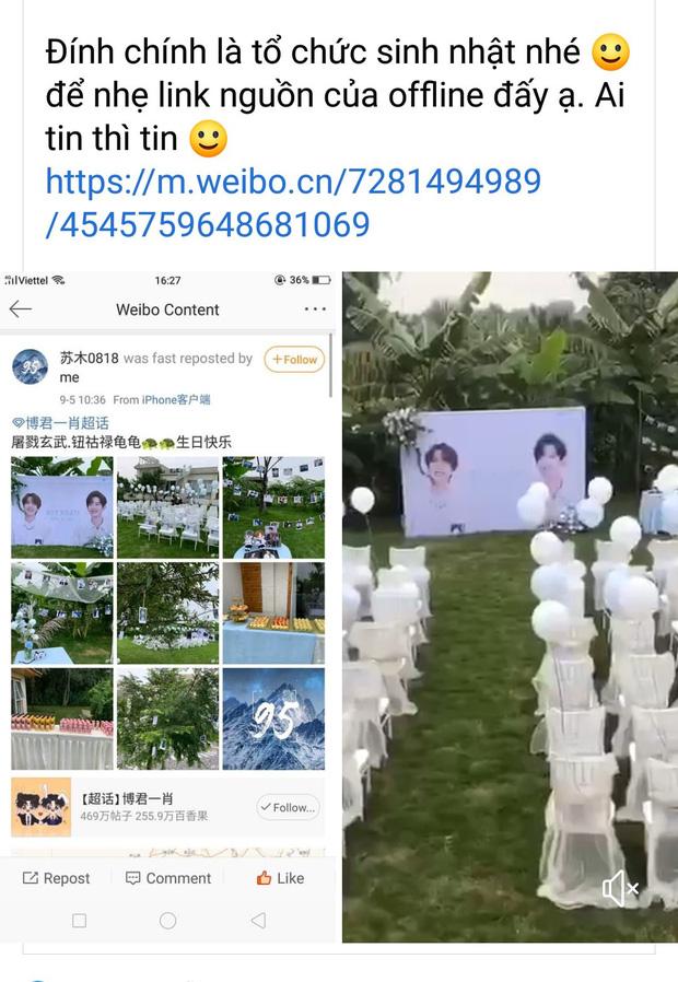 Fan Trần Tình Lệnh tổ chức đám cưới cho Vương Nhất Bác - Tiêu Chiến, vô tình gây tranh cãi khắp MXH - Ảnh 11.