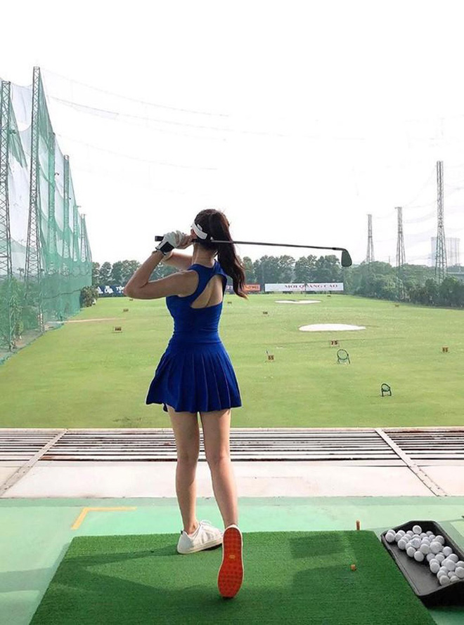 Bắt bài chụp ảnh của dàn gái xinh sân golf, chỉ một bức hình mà khoe đủ combo đẹp - khoẻ - sang - Ảnh 18.