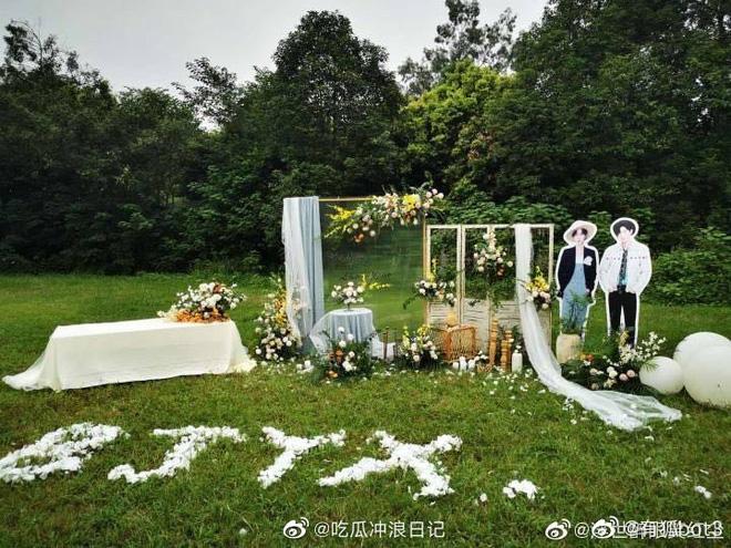 Fan Trần Tình Lệnh tổ chức đám cưới cho Vương Nhất Bác - Tiêu Chiến, vô tình gây tranh cãi khắp MXH - Ảnh 7.