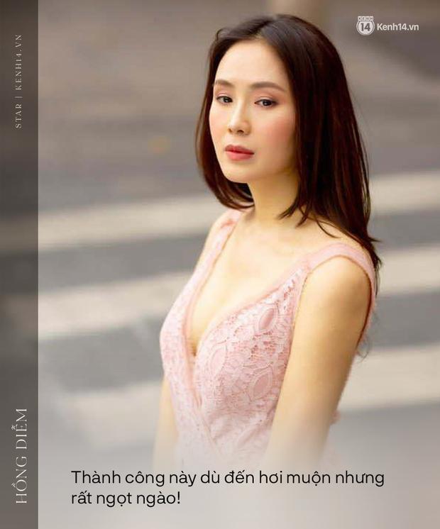 """Phỏng vấn nóng Hồng Diễm sau màn thắng đậm ở VTV Awards: """"Tôi không chán đóng với Hồng Đăng nhưng sợ khán giả sẽ cảm thấy chán"""" - Ảnh 1."""
