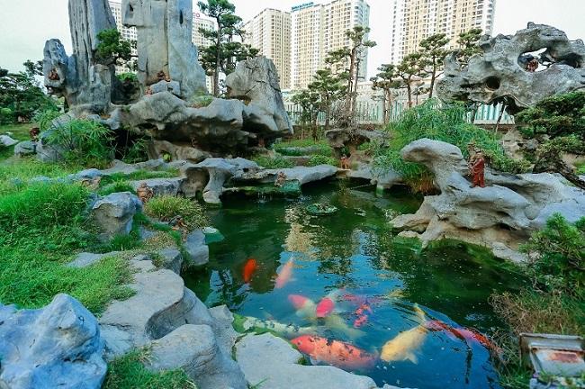 Cận cảnh khu vườn tiền tỷ của tay chơi cây cảnh nức tiếng Hà thành - Ảnh 6.