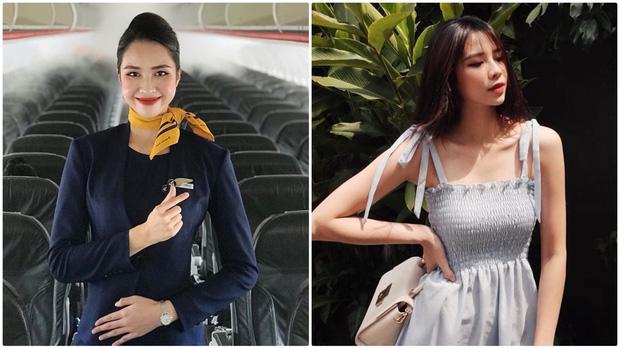 Chấm điểm dàn mỹ nữ tiếp viên hàng không khi đi làm và lúc lên đồ đi chơi - Ảnh 1.