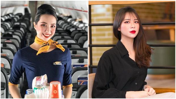 Chấm điểm dàn mỹ nữ tiếp viên hàng không khi đi làm và lúc lên đồ đi chơi - Ảnh 2.