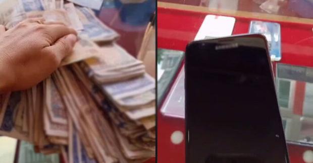 Cay mắt cảnh người mẹ nghèo đếm từng đồng lẻ mua trả góp điện thoại cũ cho con gái lớp 12, bất ngờ hơn là hành động của chủ cửa hàng - Ảnh 2.