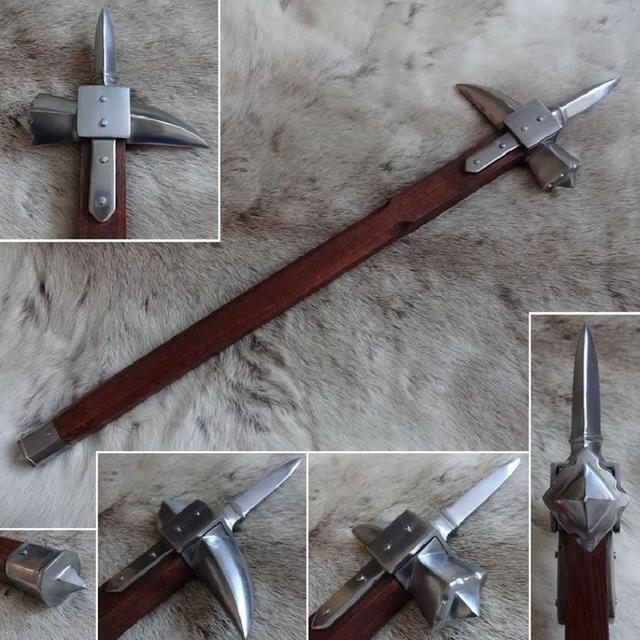 Búa chiến (Warhammer) – Từ đồ gia dụng thành vũ khí nguy hiểm bậc nhất thời Trung Cổ - ảnh 1