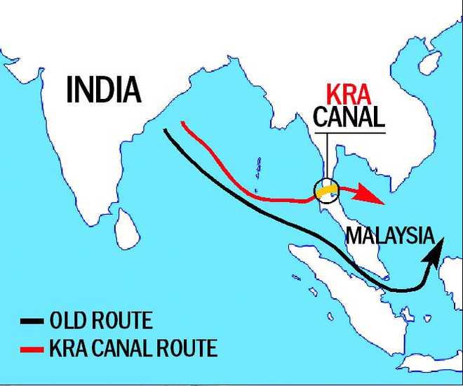 Nguy cơ đối đầu Trung - Ấn từ siêu dự án kênh đào ở Thái Lan - Ảnh 2.