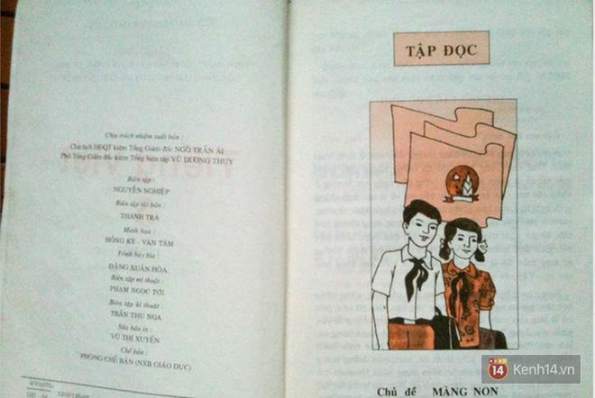Trang sách cũ của 8X, 9X bỗng được share rần rần trên mạng, hóa ra nhờ câu nhắn siêu dễ thương từ nhà xuất bản - Ảnh 4.