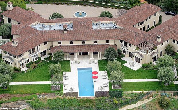Căn nhà mới của cặp đôi tại LA, Mỹ.