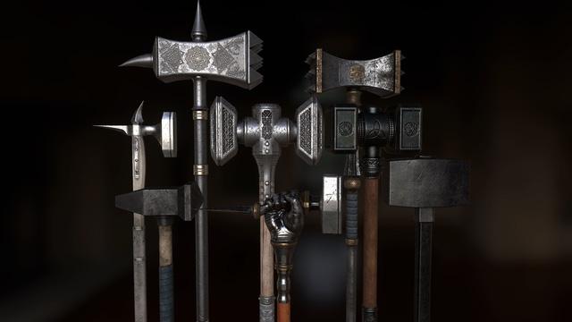 Búa chiến (Warhammer) – Từ đồ gia dụng thành vũ khí nguy hiểm bậc nhất thời Trung Cổ - ảnh 6