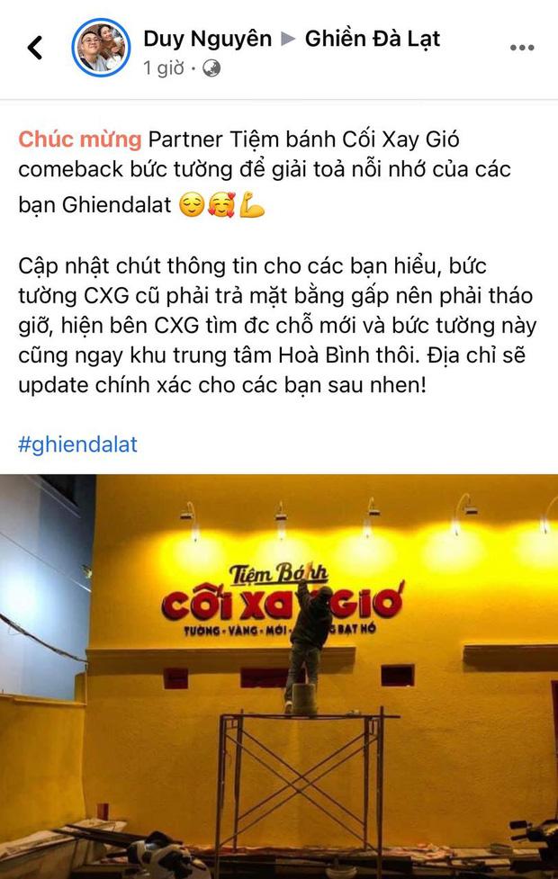 HOT: Bức tường vàng Cối Xay Gió nổi tiếng Đà Lạt đã comeback, địa điểm mới gây bất ngờ cho dân mạng - Ảnh 3.