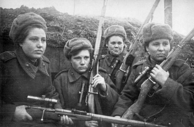 Bất khuất nữ chiến binh Xô Viết trong chiến tranh vệ quốc - Ảnh 2.