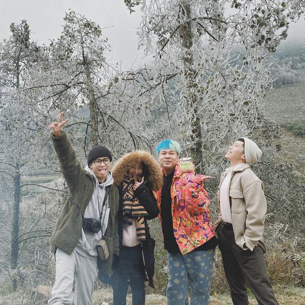 Hội trai xinh gái đẹp tung ảnh check in tuyết ở Y Tý, Sa Pa đẹp hú hồn, không ngờ Việt Nam mình cũng có những nơi thế này! - Ảnh 14.