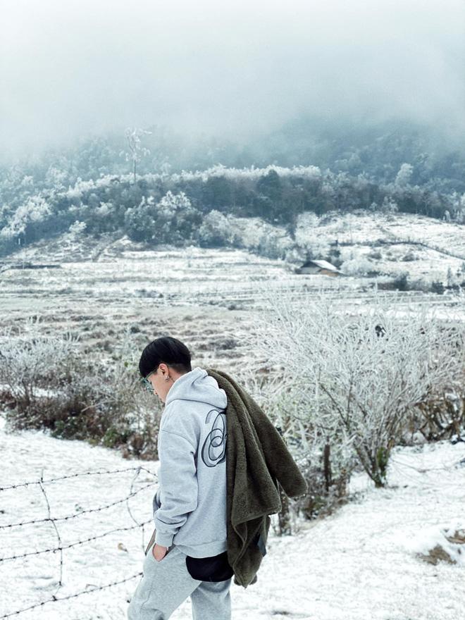 Hội trai xinh gái đẹp tung ảnh check in tuyết ở Y Tý, Sa Pa đẹp hú hồn, không ngờ Việt Nam mình cũng có những nơi thế này! - Ảnh 1.