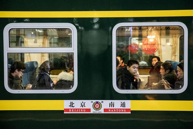 Người dân Trung Quốc về quê ăn Tết trong những năm trước