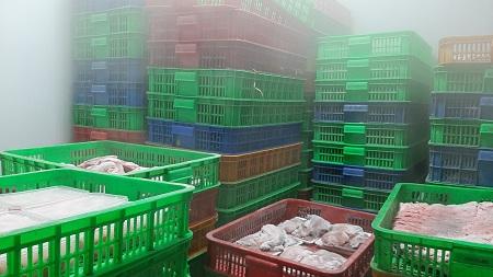 Phát hiện hơn 5,5 tấn thịt gia súc, gia cầm, thuỷ sản... không rõ nguồn gốc, xuất xứ - Ảnh 2.