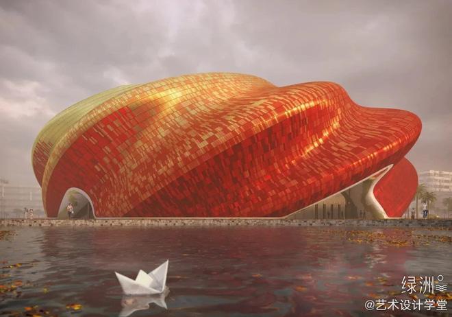Công trình kiến trúc xấu nhất Trung Quốc khiến dân mạng cười mệt: Vừa lòe loẹt gây nhức mắt lại u ám hệt như lối vào cõi âm - Ảnh 4.