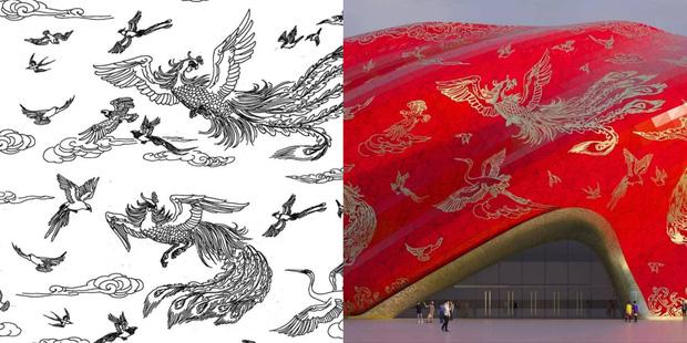 Công trình kiến trúc xấu nhất Trung Quốc khiến dân mạng cười mệt: Vừa lòe loẹt gây nhức mắt lại u ám hệt như lối vào cõi âm - Ảnh 3.