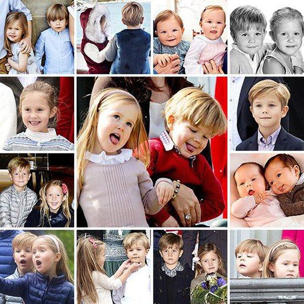 Cặp song sinh Hoàng gia Đan Mạch gây sốt MXH với màn lột xác ở tuổi lên 10, độ hot không thua kém Hoàng tử Công chúa nước Anh - Ảnh 6.