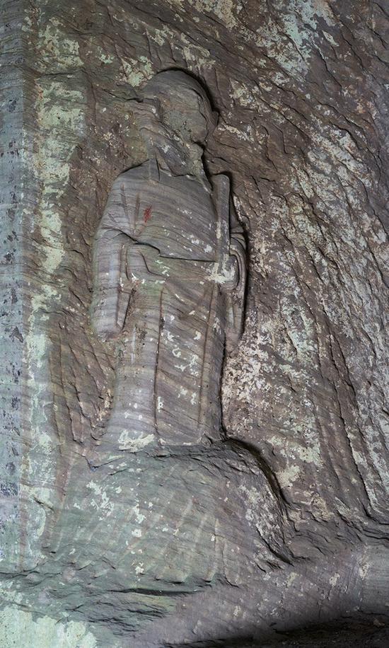 Phát hiện bức tượng tinh xảo trên vách núi: Đây chính là nhân vật trong phim Tây Du Ký! - Ảnh 2.