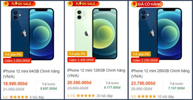 Săm soi giá iPhone 12 những ngày cận Tết: 12 mini giảm giá cực sâu, 12 Pro Max hạ nhiệt - Ảnh 3.