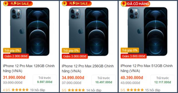 Săm soi giá iPhone 12 những ngày cận Tết: 12 mini giảm giá cực sâu, 12 Pro Max hạ nhiệt - Ảnh 8.