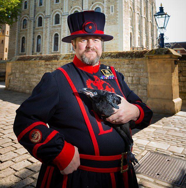 Quạ nữ hoàng nổi tiếng trên tháp London biến mất bí ẩn - Ảnh 2.