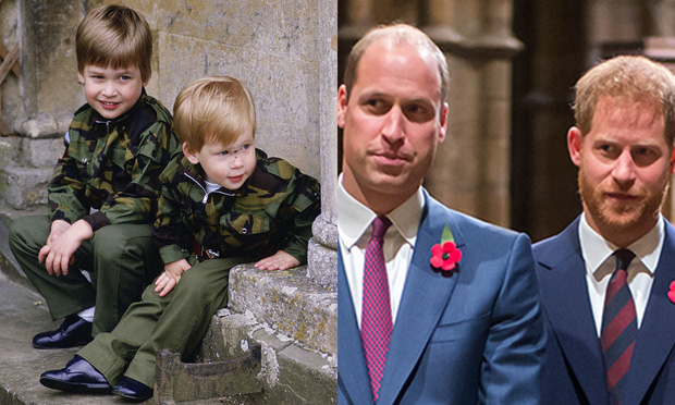 Hai anh em William - Harry không còn thân thiết như xưa