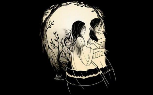 Người sáng tạo nhìn vào bức tranh sẽ thấy cô gái hay cái đầu lâu trước tiên?