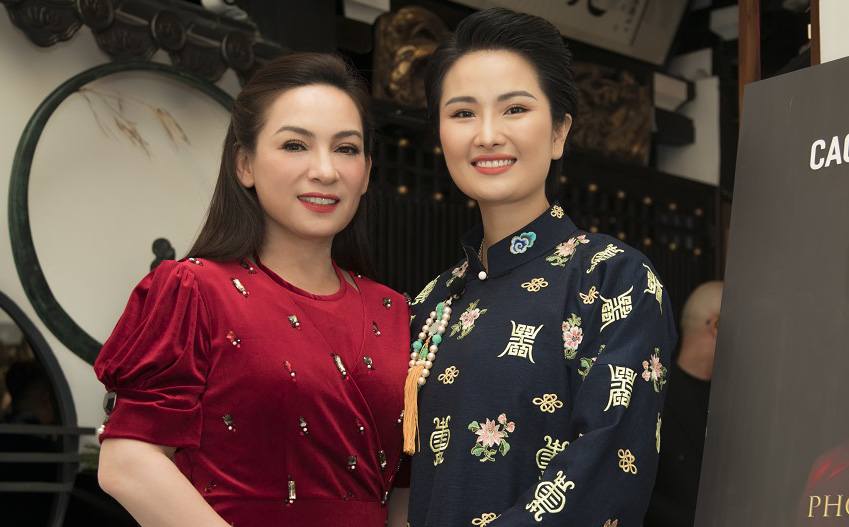 Kim Tuyến, Phi Nhung cùng dàn sao đến chúc mừng Cao Thùy Dương