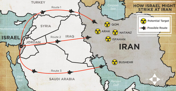 NÓNG: Oanh tạc cơ B-52 Mỹ bất ngờ vượt không phận Israel, thẳng hướng Iran! - Ảnh 1.
