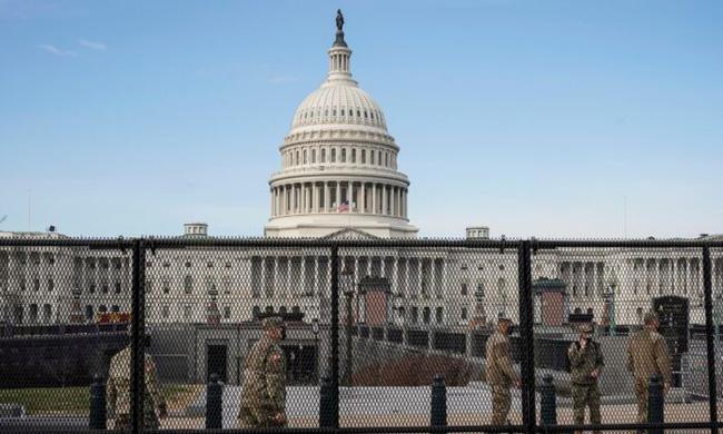Washington được quân sự hóa cao độ trước lễ nhậm chức của Biden - ảnh 4