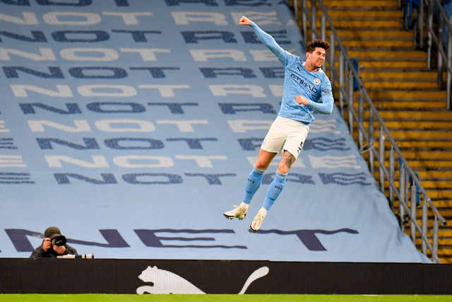 Manchester City 4-0 Crystal Palace: Áp sát ngôi đầu của Man Utd - Ảnh 1.