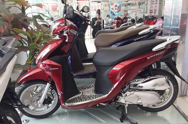 Doanh số xe máy Honda giảm mạnh trong năm 2020 - Ảnh 1.