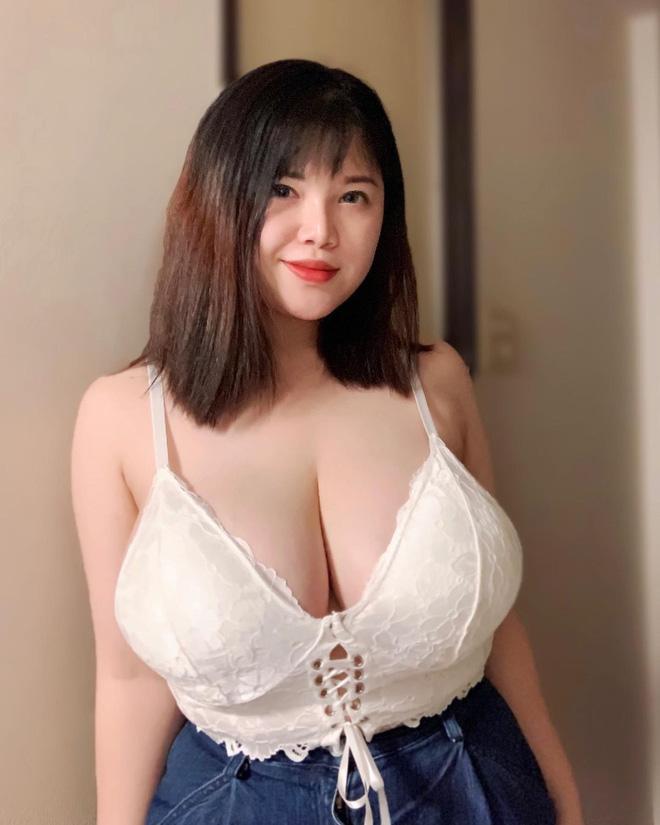 Cô gái Hải Dương tiết lộ lý do vòng 1 vẫn siêu khủng dù từng phẫu thuật hút 6 lít mỡ để thu gọn ngực - ảnh 2