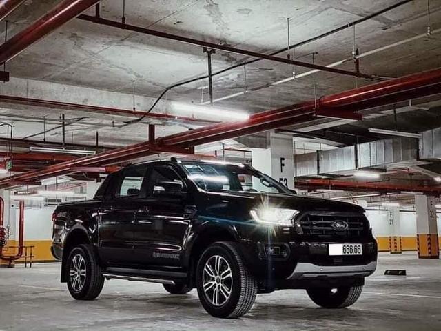 Bốc được biển '666.66', chủ nhân Ford Ranger rao bán xe với giá 2,6 tỷ đồng - Ảnh 1.