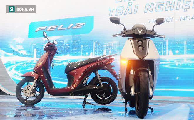 Xe máy điện của VinFast chính thức chốt giá, rẻ hơn Honda SH, kèm ưu đãi