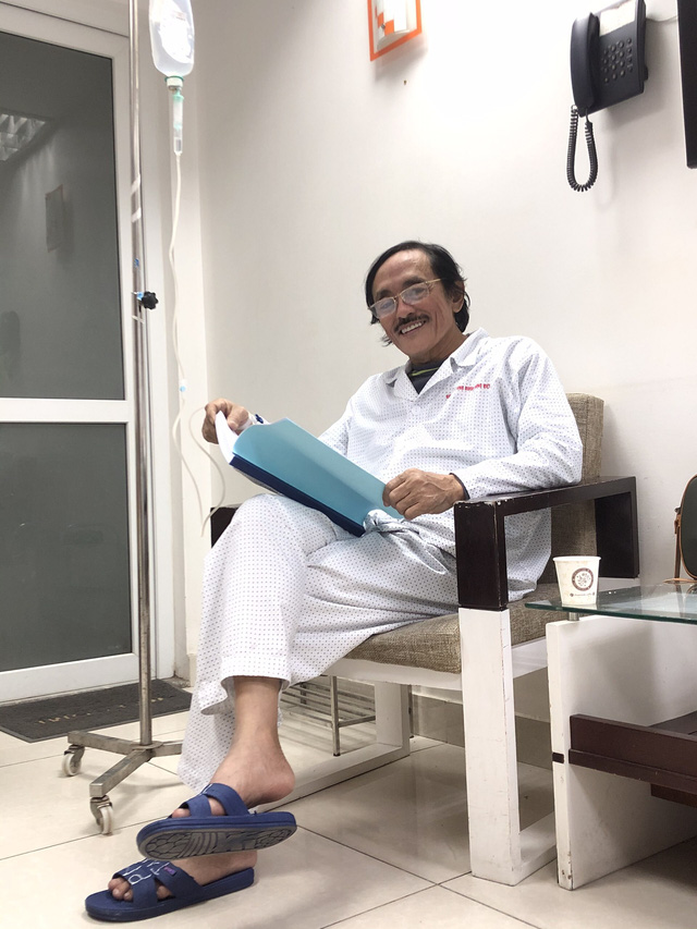 Nghệ sĩ Giang còi xác nhận ung thư họng, đã di căn - Ảnh 1.