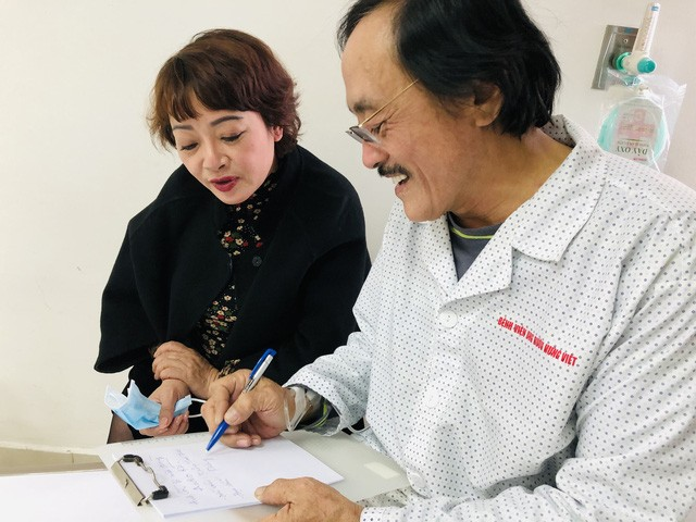 Nghệ sĩ Giang còi xác nhận ung thư họng, đã di căn - Ảnh 2.