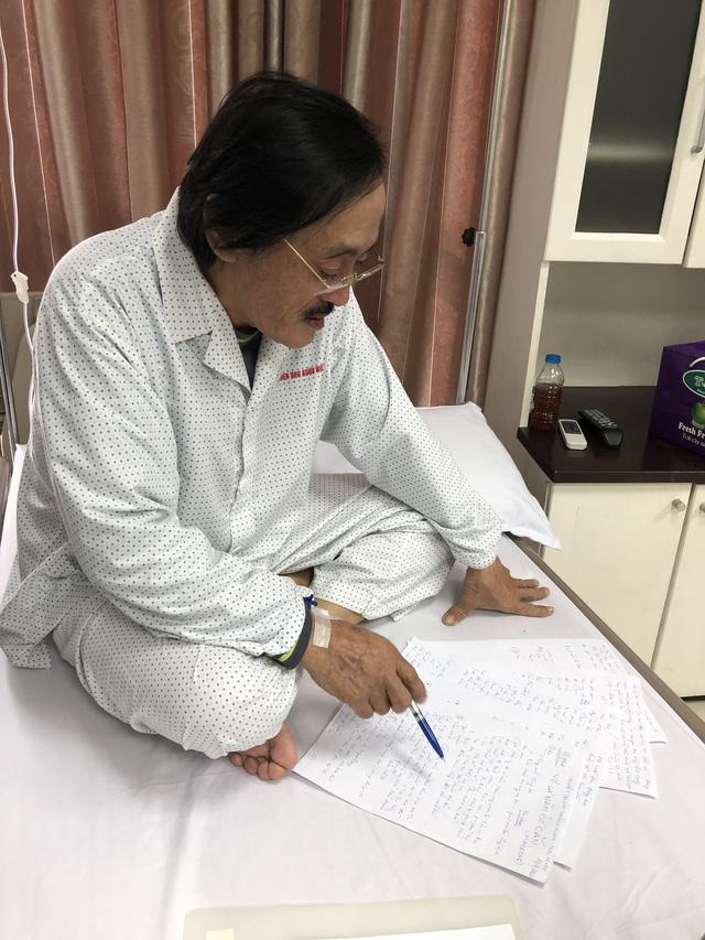 Nghệ sĩ Giang còi xác nhận ung thư họng, đã di căn - Ảnh 3.