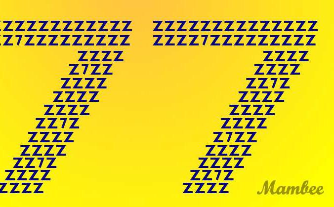 Thách thức thị giác: Đố bạn tìm ra chính xác 10 con số 7 trong vòng 8 giây!
