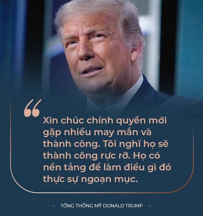 Toàn văn bài phát biểu cuối của ông Trump trên cương vị Tổng thống: Tôi đã cảnh báo các bạn rồi đấy! - Ảnh 9.