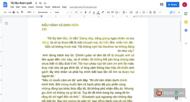 Cách để chuyển tài liệu từ giấy sang bản Word trong 1 nốt nhạc với sự trợ giúp của chiếc iPhone - Ảnh 7.
