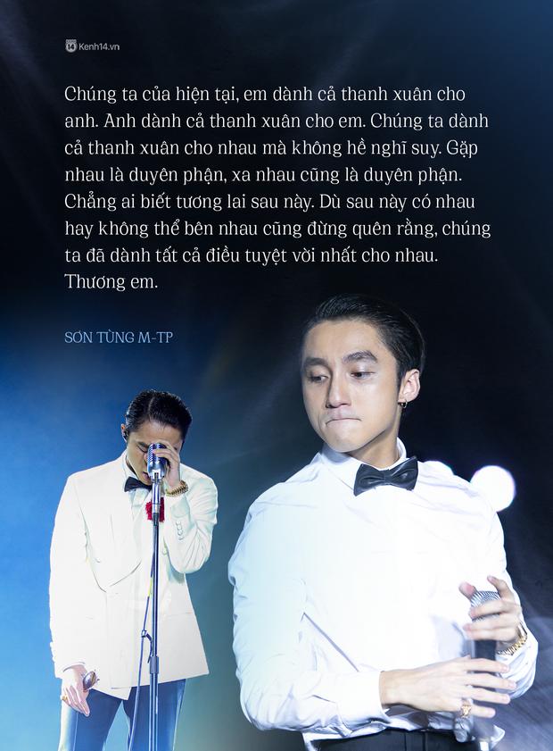 Sơn Tùng vừa chốt hạ ồn ào trà xanh bằng 2 chữ Thương em, netizen đã loạn cào cào nói chuyện nhân tình thế thái! - Ảnh 2.
