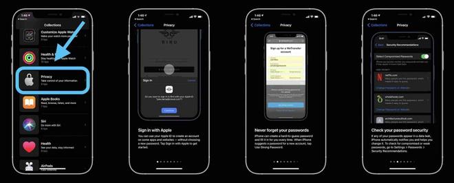 9 mẹo bảo mật an toàn tuyệt đối được Apple chia sẻ trên iPhone - Ảnh 1.