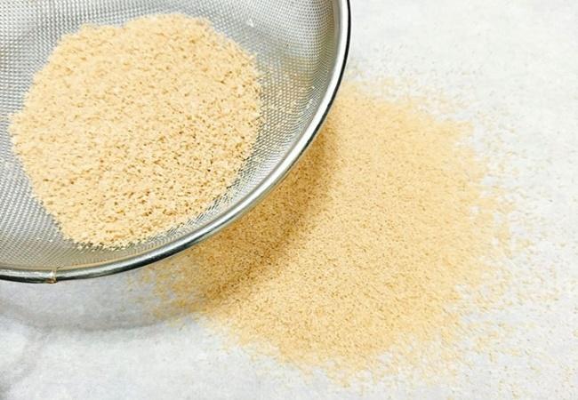 Hạt nêm từ thịt gà ngon chuẩn, dùng nêm gia vị rất an toàn.